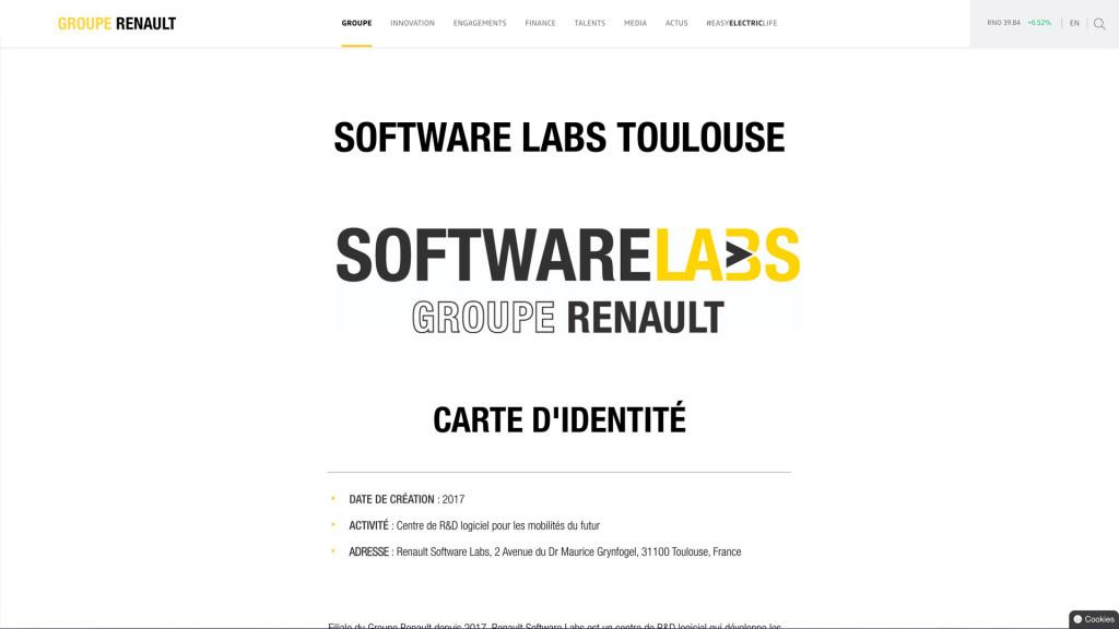 Renault Software Labs