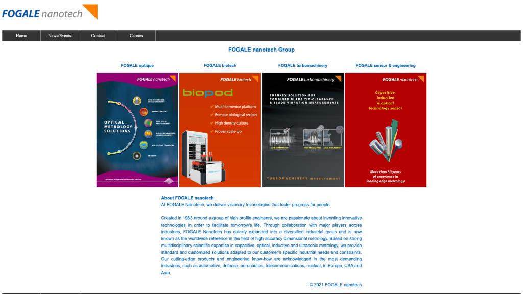 Fogale Nanotech Group